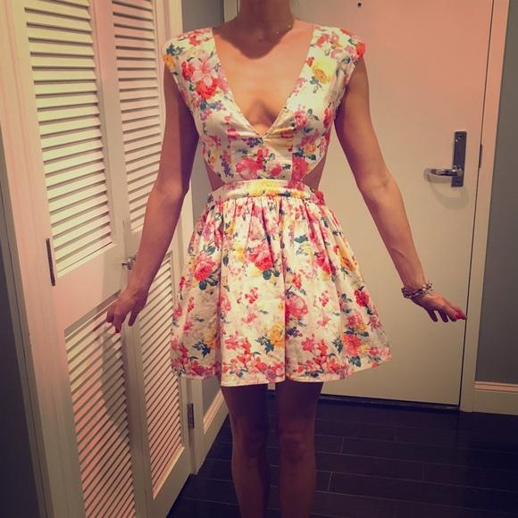 caddbfa7b2d43 Floral Teatime Dress